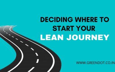 Lean journey